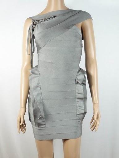 herve leger bandage dress cheap greyH169