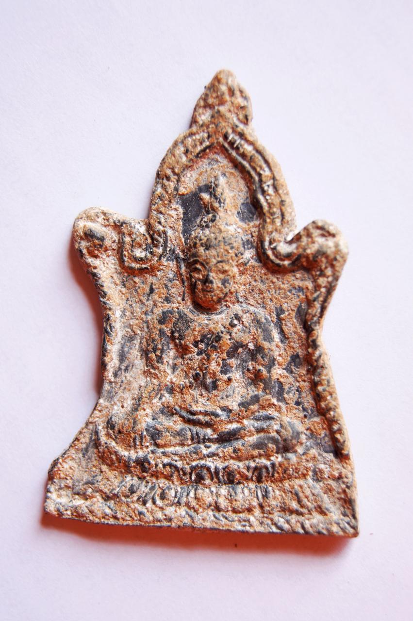 พระพุทธชินราชเนื้อชิน พิมพ์ซุ้มระฆัง 1000