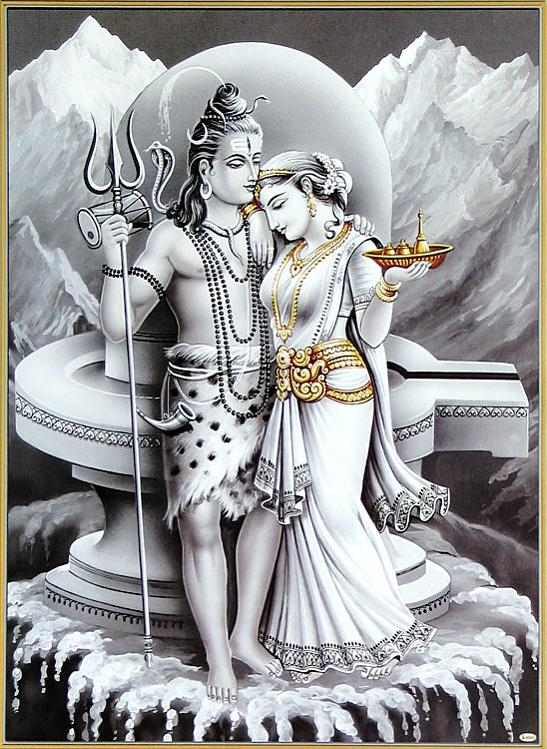parvati dollsofindia3 ( พระศิวะและพระแม่อุมาเทวี )