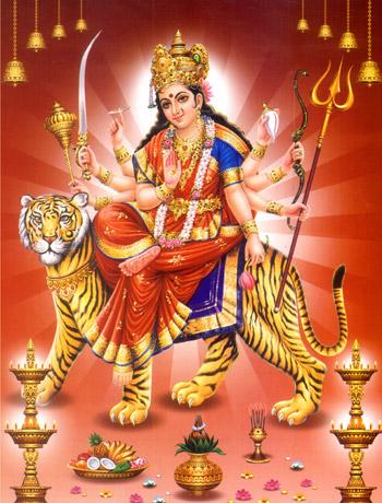 parvati shreenathadham org ( พระแม่อุมา ทรงเสือพาหนะ )