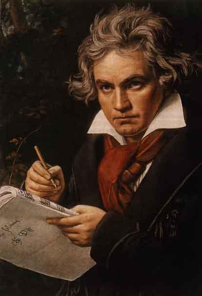 Ludwig Van Beethoven (L.V. Beethoven)  (16 December 1770