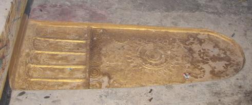 รอยพระพุทธบาทลาวตอนใต้ที่วัดถ้ำพระพุทธบาท ปากเซ