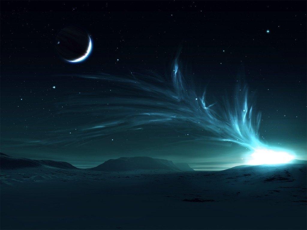Night sky ..