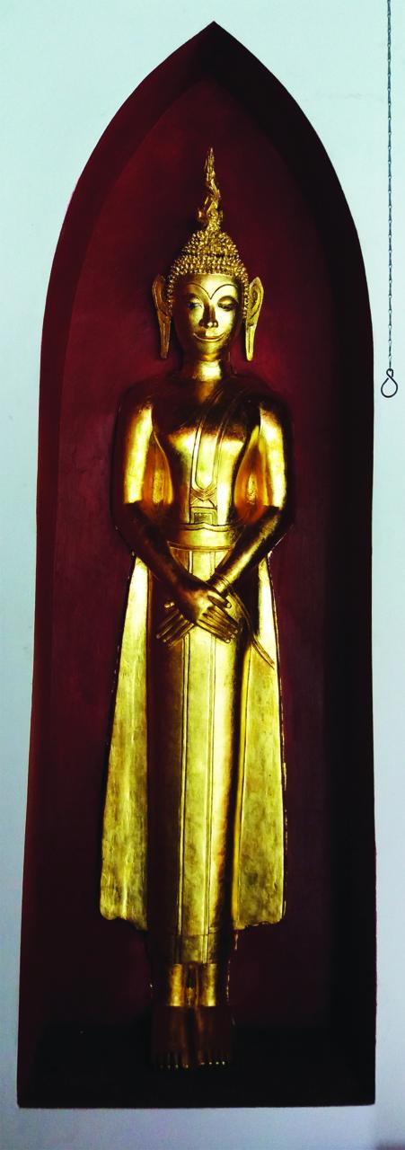 ลงรักปิดทององค์พระพุทธรูป   09-9048-3004