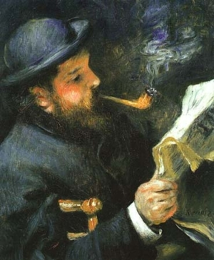01 Claude Monet Reading