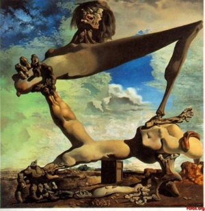 3Salvador Dali Premonition Of Civil War