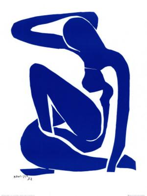 E339~Blue Nude I c 1952 Posters