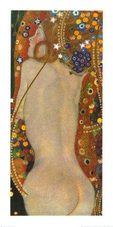 GK2082~Water Serpents II c 1907 detail Posters