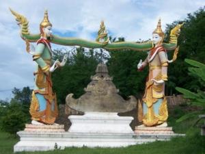 เทวดาศิลปะพม่า วัดพระธาตุสุโทนมงคลคีรี