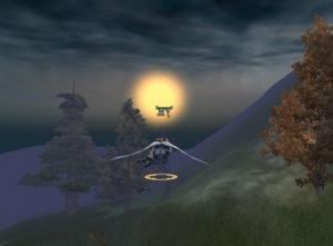 พระจันทร์โรแมนติกสุด ๆ อิอิ