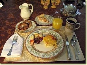 breakfast setting ithaca upstate