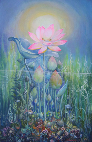 lotuspainting