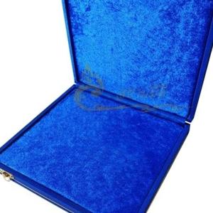 3กล่องใส่พระ กล่องสะสมพระ กล่องเครื่องราง  ผ้าไหมสีน้ำเงิน ขนาดพกพา(พระไม่กลิ้ง) เก็บพระเครื่อง และ เครื่องราง ได้หลายแบบ ขนาดกล่อง 19.5 x 20 x 4 c