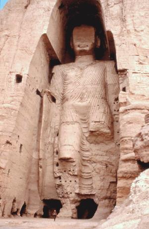 Bamiyan Buddha in Afganistan