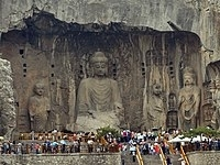 Big BuddhaLongmenGrottoHunanChina