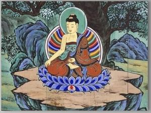 coloring Buddha