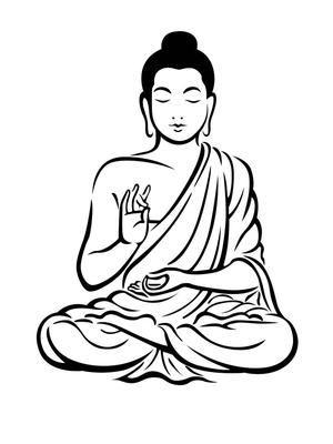 bwdrawingbuddha