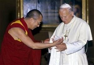dalai lama 14 john paul 21