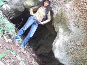 หน้าถ้ำ บึงลับแล