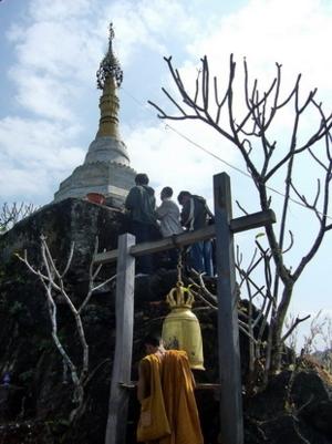 วัดพระธาตุโบอ่อง ปิล็อค ทองผาภูมิ กาญจนบุรี10ธ.ค51