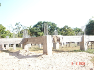 ความคืบหน้างานก่อสร้างโบสถ์ 9 ก.พ.2552