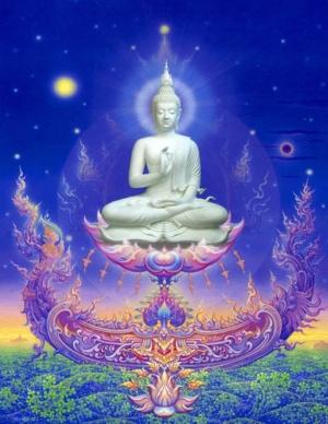 Celestial Buddha Wat Rong K