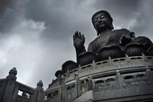 PoLin Buddha II by Marinshe