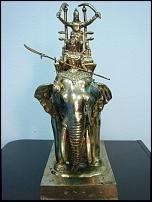 รูปหล่อพระเจ้าพรหมมหาราช(60,000บาท)