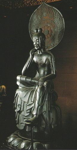 พระศรีอริยเมตตรัยศิลปะญี่ปุ่น