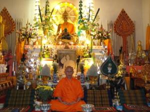 Ven.Asadachanh at temple 10