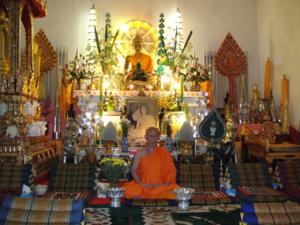 Ven.Asadachanh at temple 09