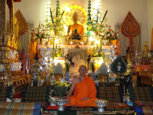Ven.Asadachanh at temple 08