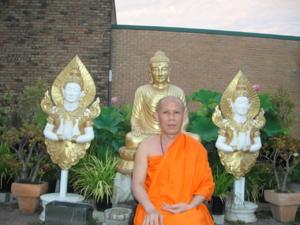 Ven.Asadachanh at temple 07