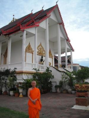 Ven.Asadachanh at temple 05