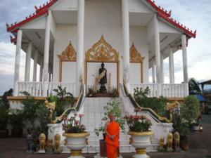 Ven.Asadachanh at temple 04