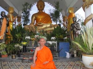 Ven.Asadachanh with Phra say 11