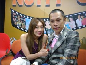 หมอแซมกับนักร้องนำวงพริกไทย น้องใหม่ในวงการ