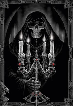 lghr15540+candelabra by anne stokes poster