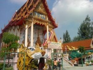 11   ลอดโบสถ์ หัวเสือ หัวมังกร วัดตะเคียน นนทบุรี