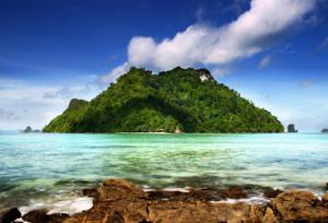 เกาะทับ ทะเลแหวก กระบี่