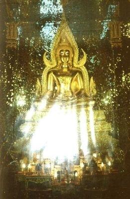 ภาพปาฏิหารย์จากสมเด็จองค์ปฐมฯ ที่มีแสงฉับพลันรังสี