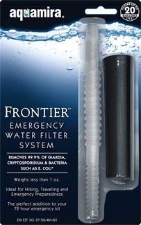 หลอดกรองน้ำ Aquamira Frontier