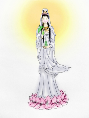 พระแม่ในนิมิต สีคอม