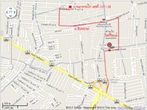 Map บ้านอาจารย์ไก่ A