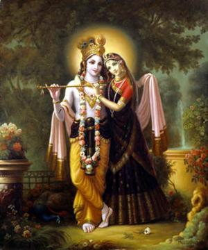 Radha y Krishna 1