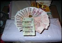 เงินกฐินส่งวัดเขาสุกิม ยอดเงิน 11,800 บาท23-241053