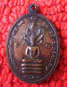 เหรียญสาธารณสุข2528 หลวงปู่เครื่อง สุภทฺโท หลัง