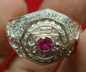 แหวนหลวงปู่ชื้น เนื้อเงิน ปี 39