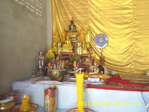 โต๊ะหมู่บูชาศาลาพิธี