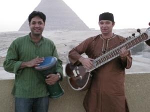 Raj concerts in Egypt and Jordan